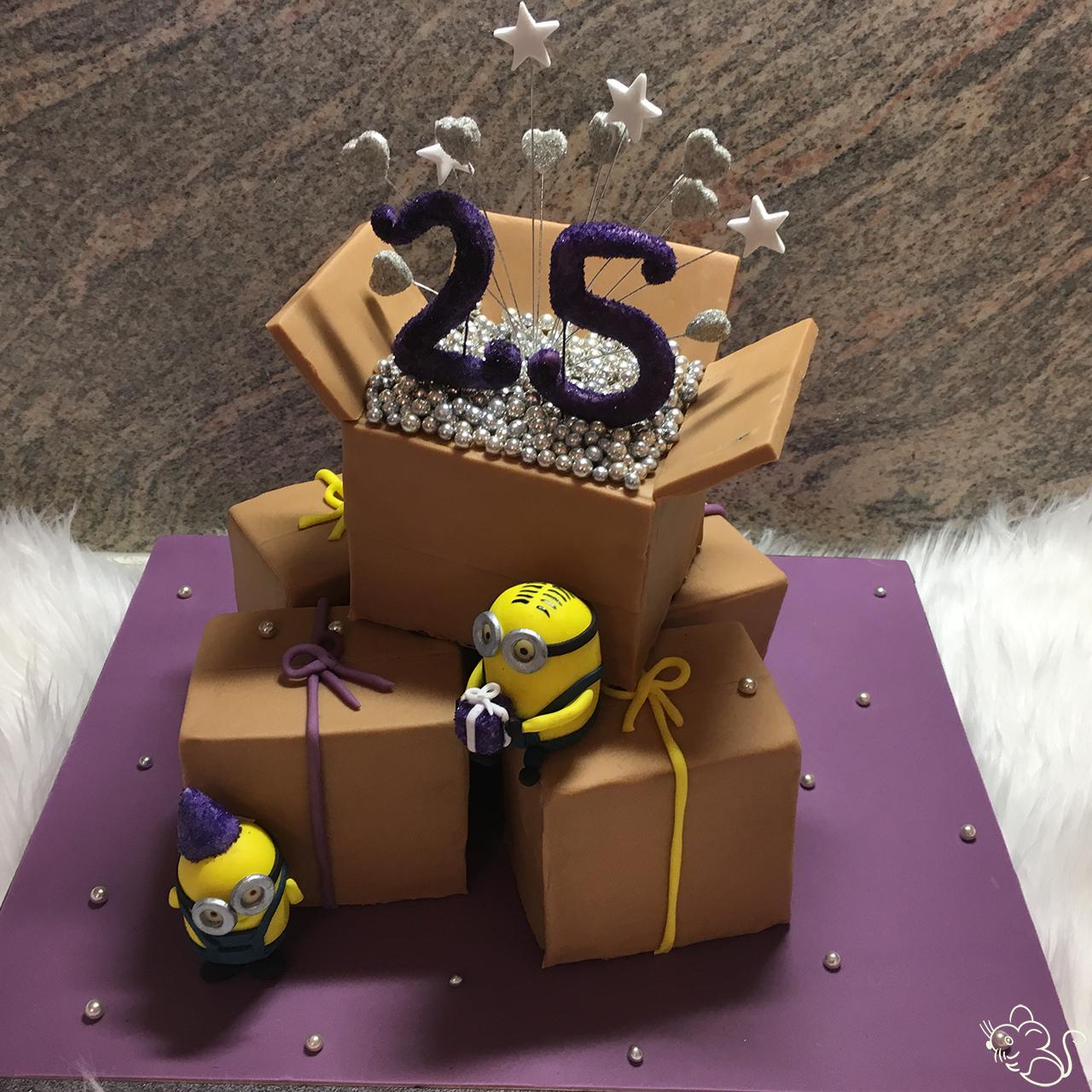 Schachteln Zum 25 Geburtstag Zuckermaus